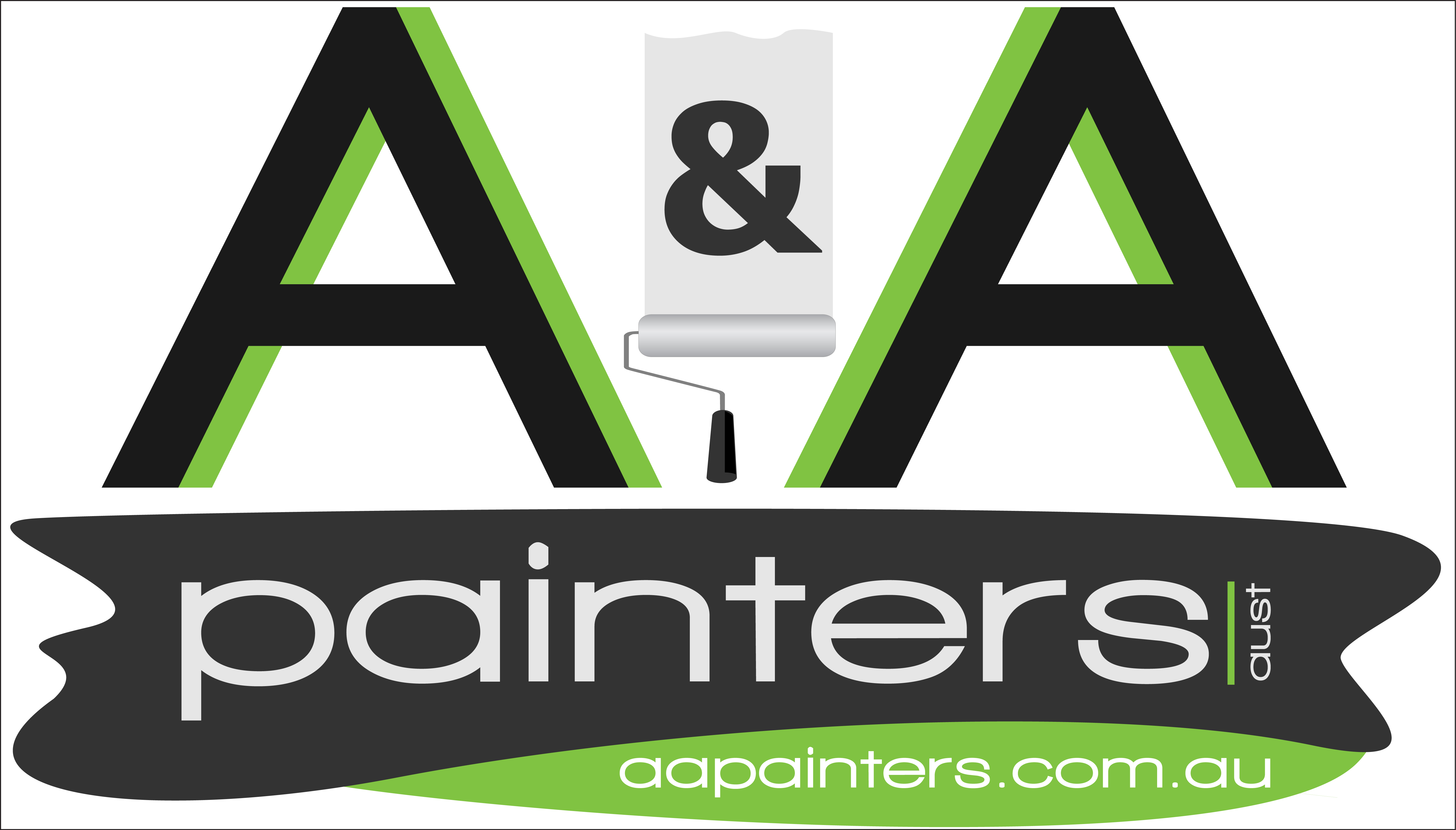 Logo of A and A Painters - Souths Logan Magpies Major Sponsor