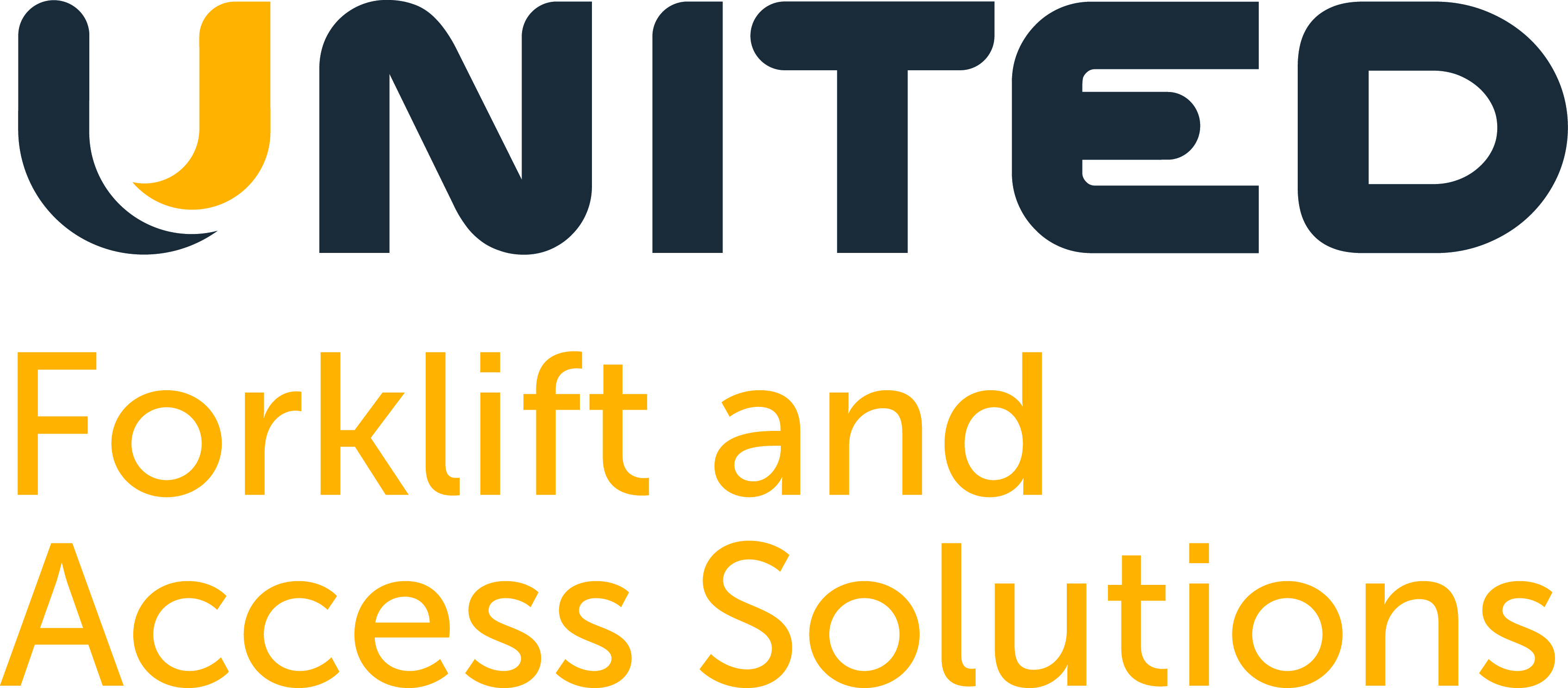Logo and Link to United Forklift and Access Solutions - Souths Logan Magpies Jersey Sponsor