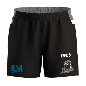 Souths Logan Magpies Official Training shorts-front