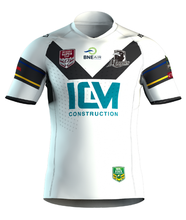 Souths Logan Magpies 2019 Replica Home Jersey-front