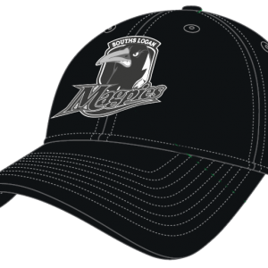 Souths Logan Magpies Cap-black