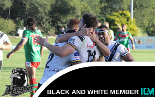 Souths Logan Magpies Black and White Membership