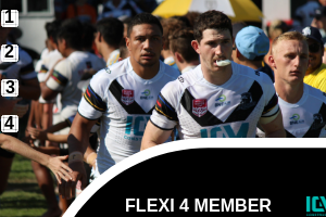Souths Logan Magpies Flexi 4 membership card