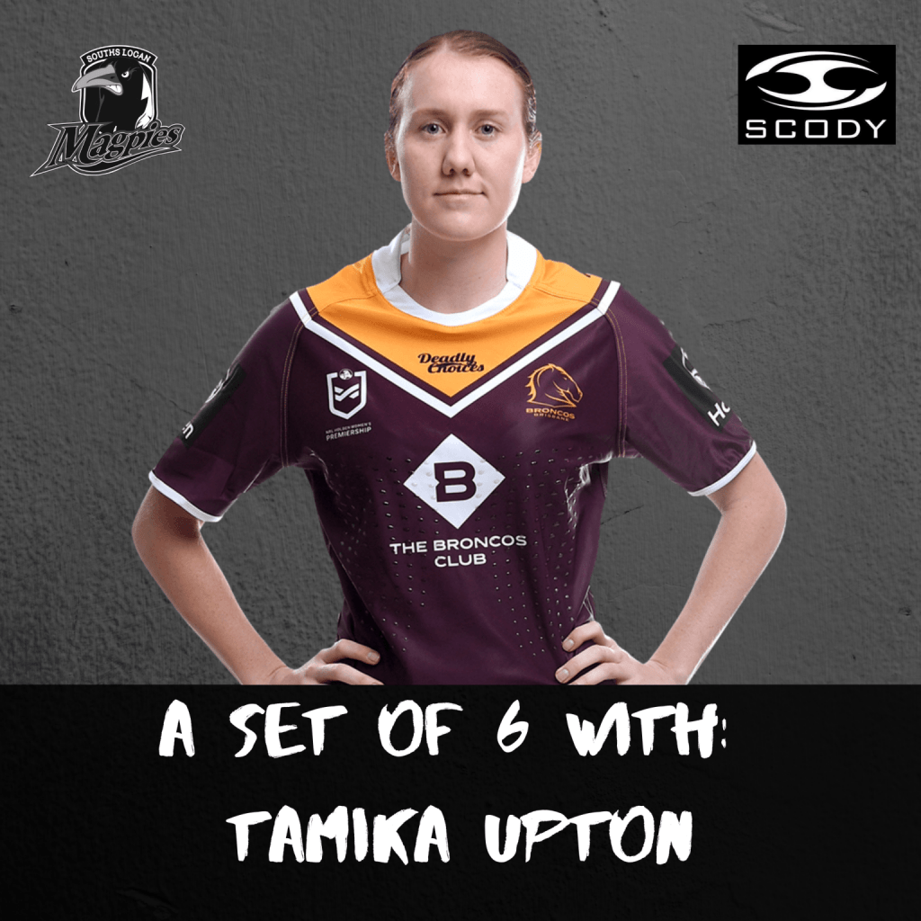A Set Of Six With: Tamika Upton